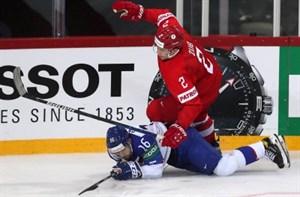 Первое поражение россиян на Чемпионате Мира