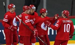 Первая сухая победа сборной России