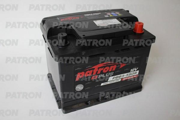 Аккумулятор PB63-550R PATRON