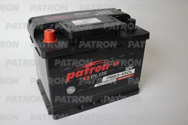 Аккумулятор PB63-550L PATRON