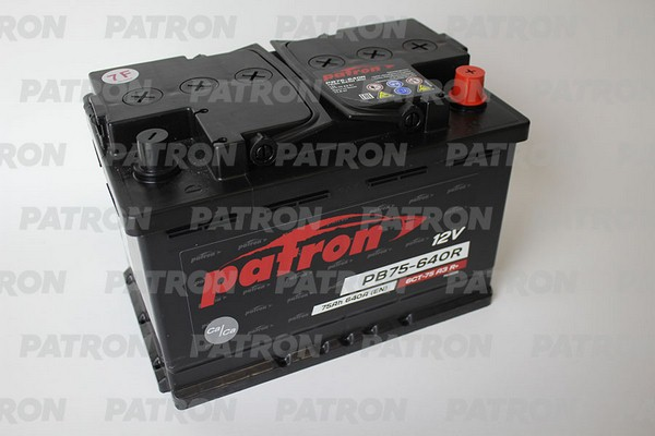 Аккумулятор PB75-640R PATRON