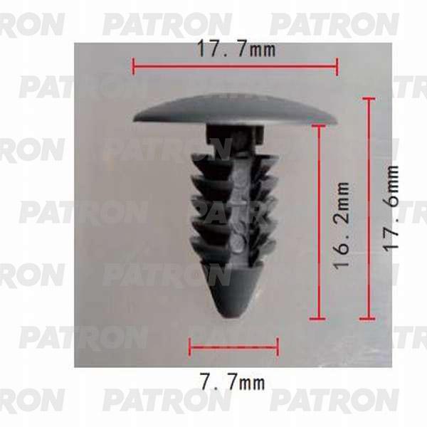 Клипса пластмассовая P37-0005 PATRON