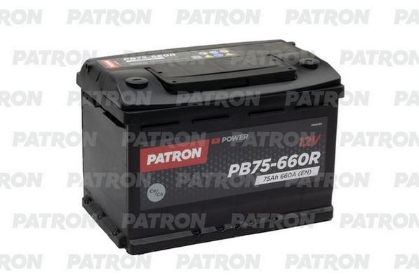 Аккумулятор PB75-660R PATRON