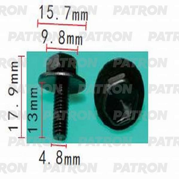 Клипса пластмассовая P37-1429 PATRON