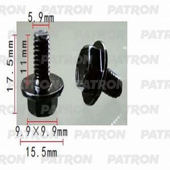 Клипса пластмассовая P37-1436 PATRON