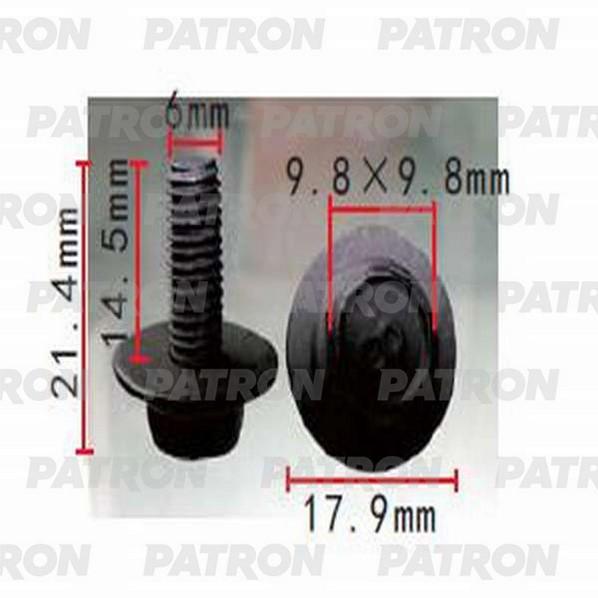 Клипса пластмассовая P37-1445 PATRON