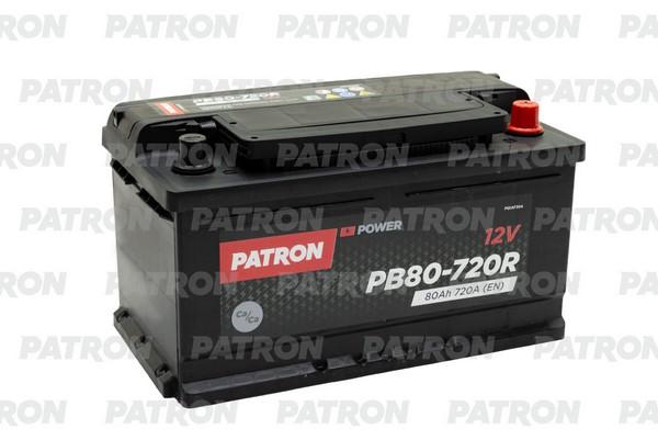 Аккумулятор PB80-720R PATRON