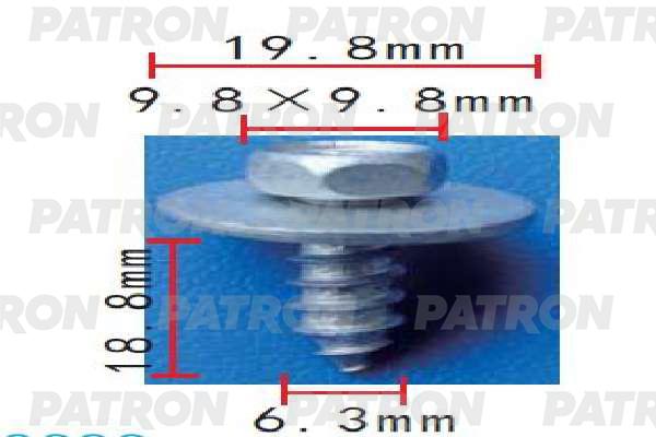 Болт металлический P37-2005 PATRON