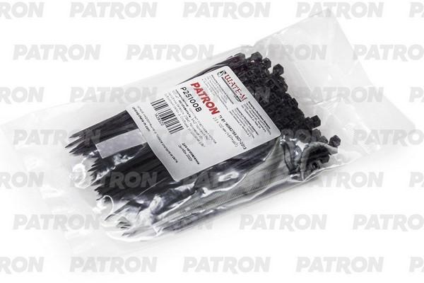 Комплект пластиковых хомутов P25100B PATRON