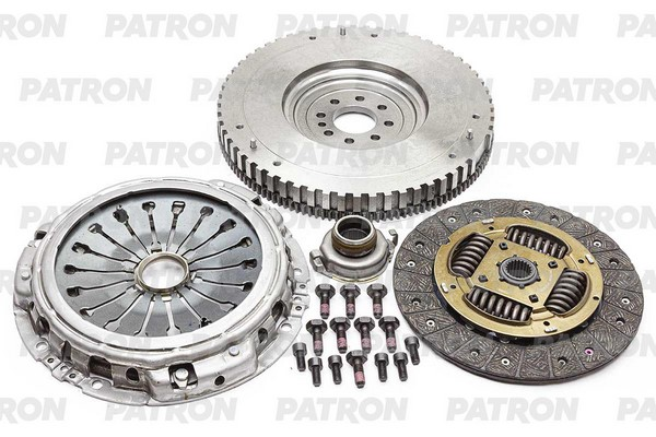 К-кт сцепления с одномассовым маховиком PCE0096 PATRON