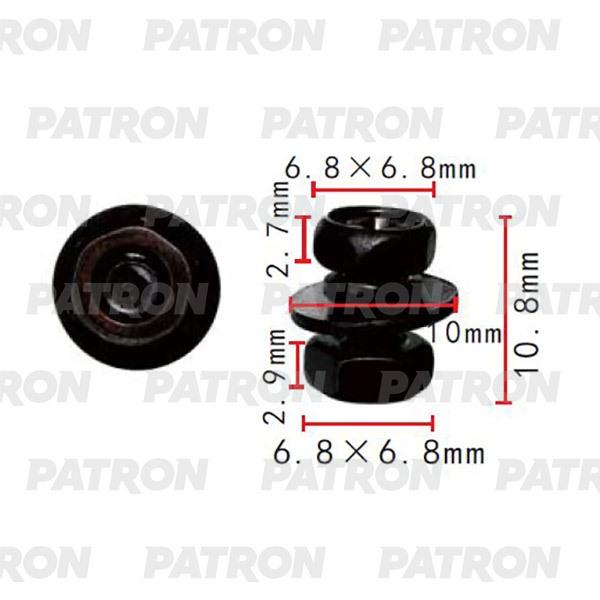 Болт металлический P37-2178 PATRON