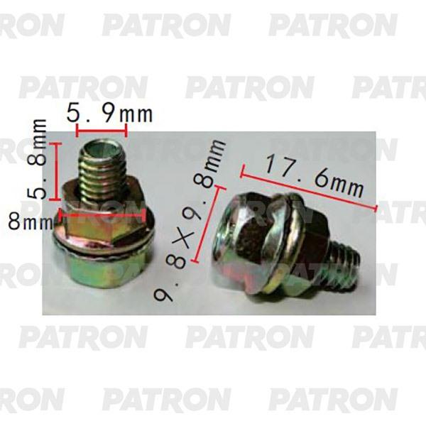 Болт металлический P37-2180 PATRON