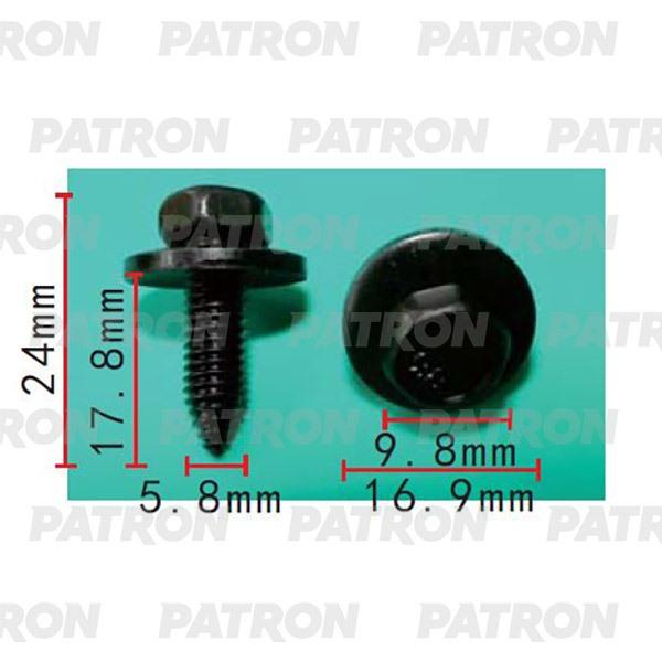 Болт металлический P37-2192 PATRON