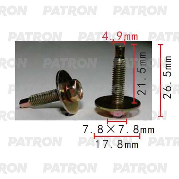 Болт металлический P37-2217 PATRON