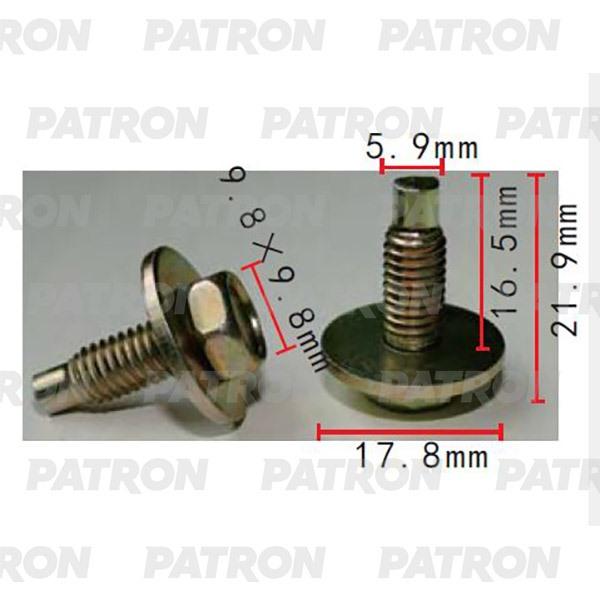 Болт металлический P37-2219 PATRON