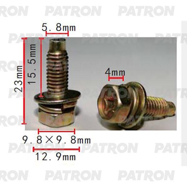 Болт металлический P37-2221 PATRON