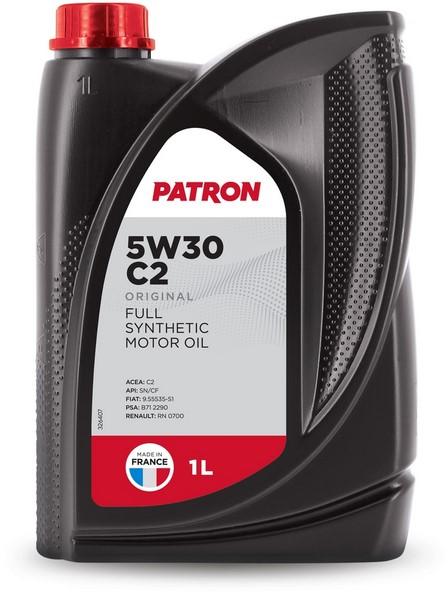 Масло моторное синтетическое 5W30 C2 1L ORIGINAL PATRON
