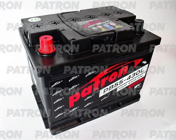 Аккумулятор PB55-430L PATRON