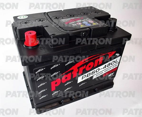 Аккумулятор PB60-480L PATRON