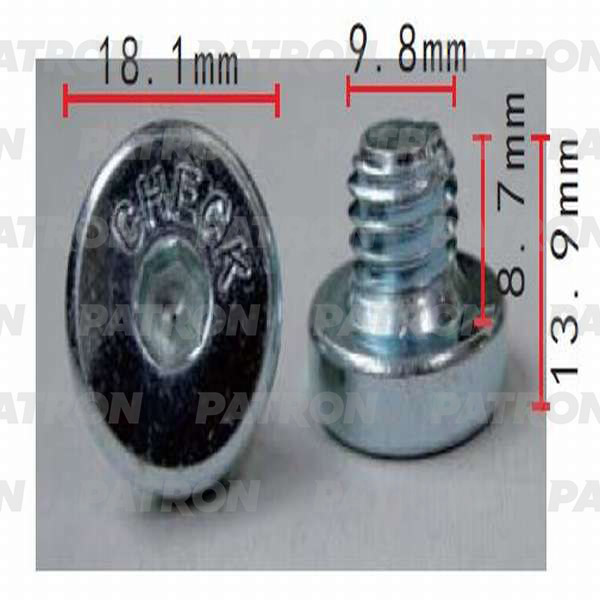 Пробка масляного поддона P37-0554 PATRON