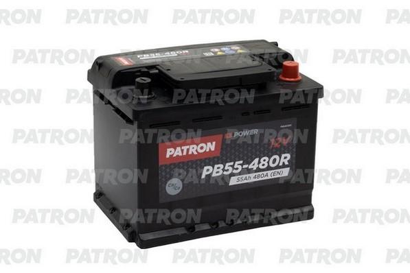 Аккумулятор PB55-480R PATRON