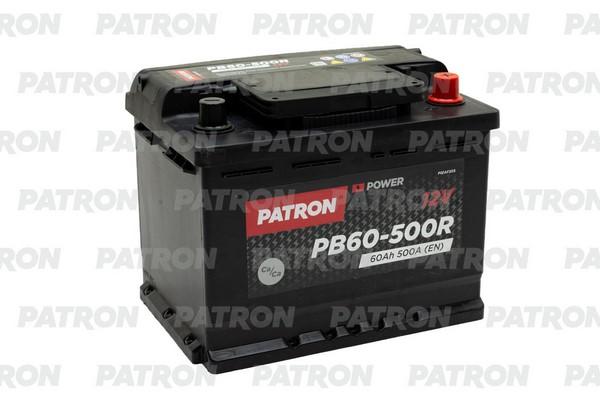 Аккумулятор PB60-500R PATRON