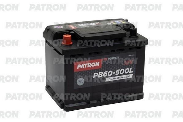 Аккумулятор PB60-500L PATRON