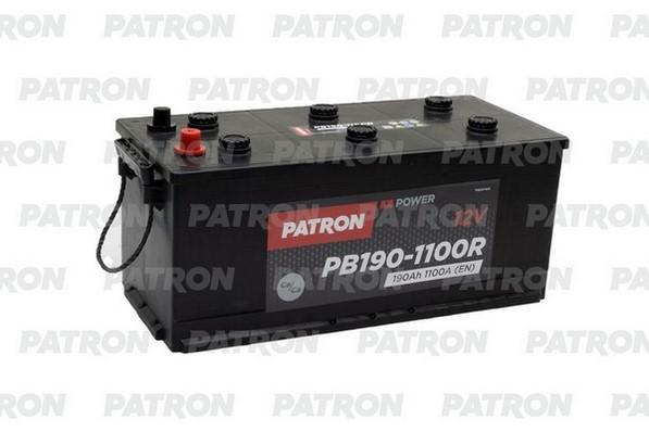 Аккумулятор PB190-1100R PATRON