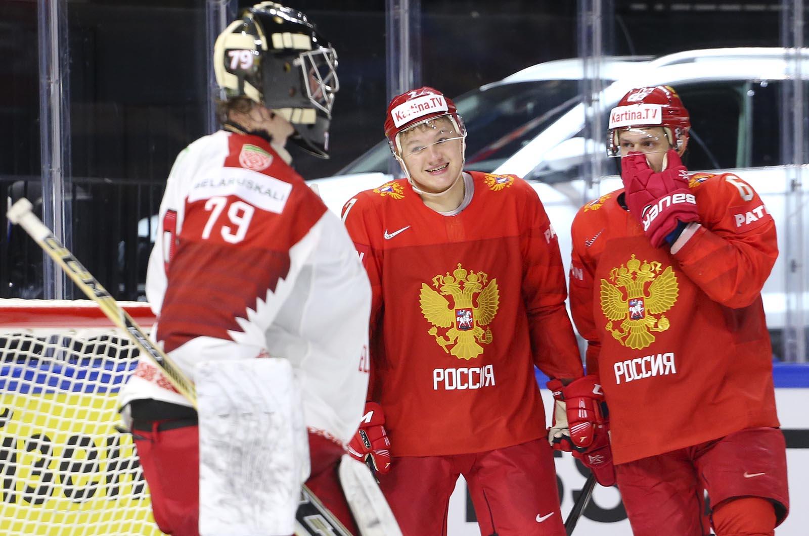 Третий сухарь сборной России