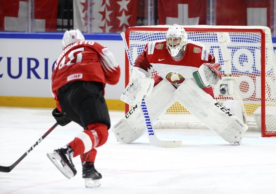 Матч Беларусь - Швейцария