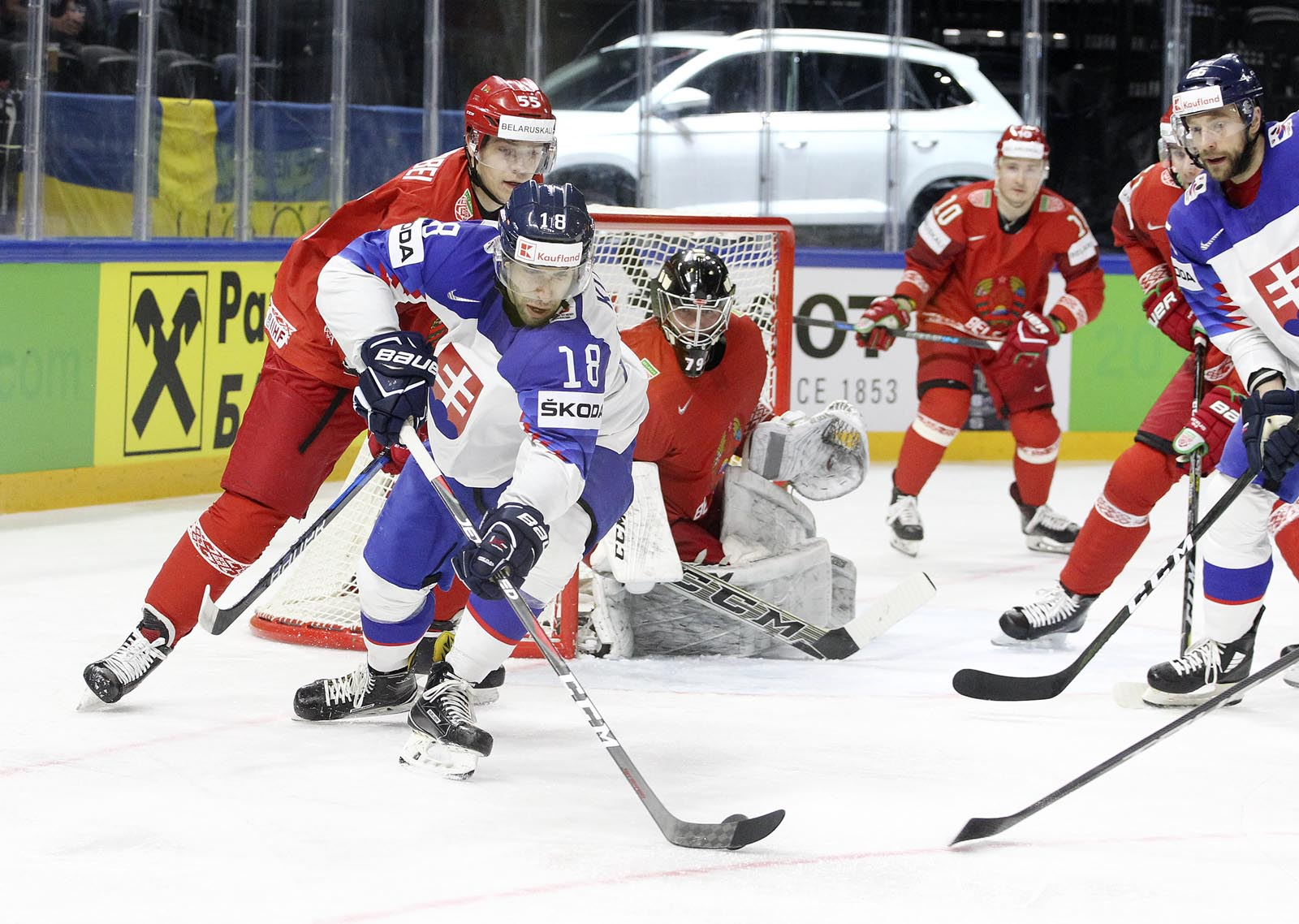Матч Беларусь - Словакия