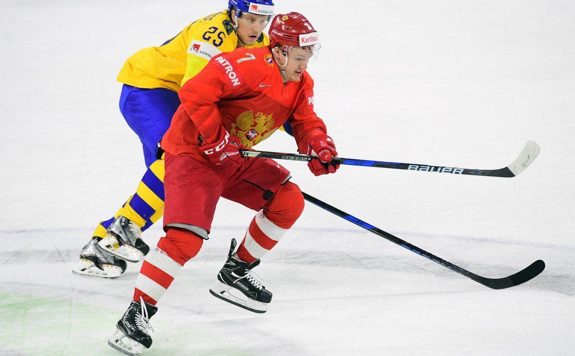 Матч Россия - Швеция