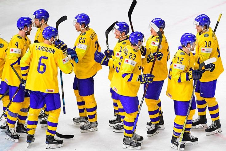 Матч Канада - Швеция