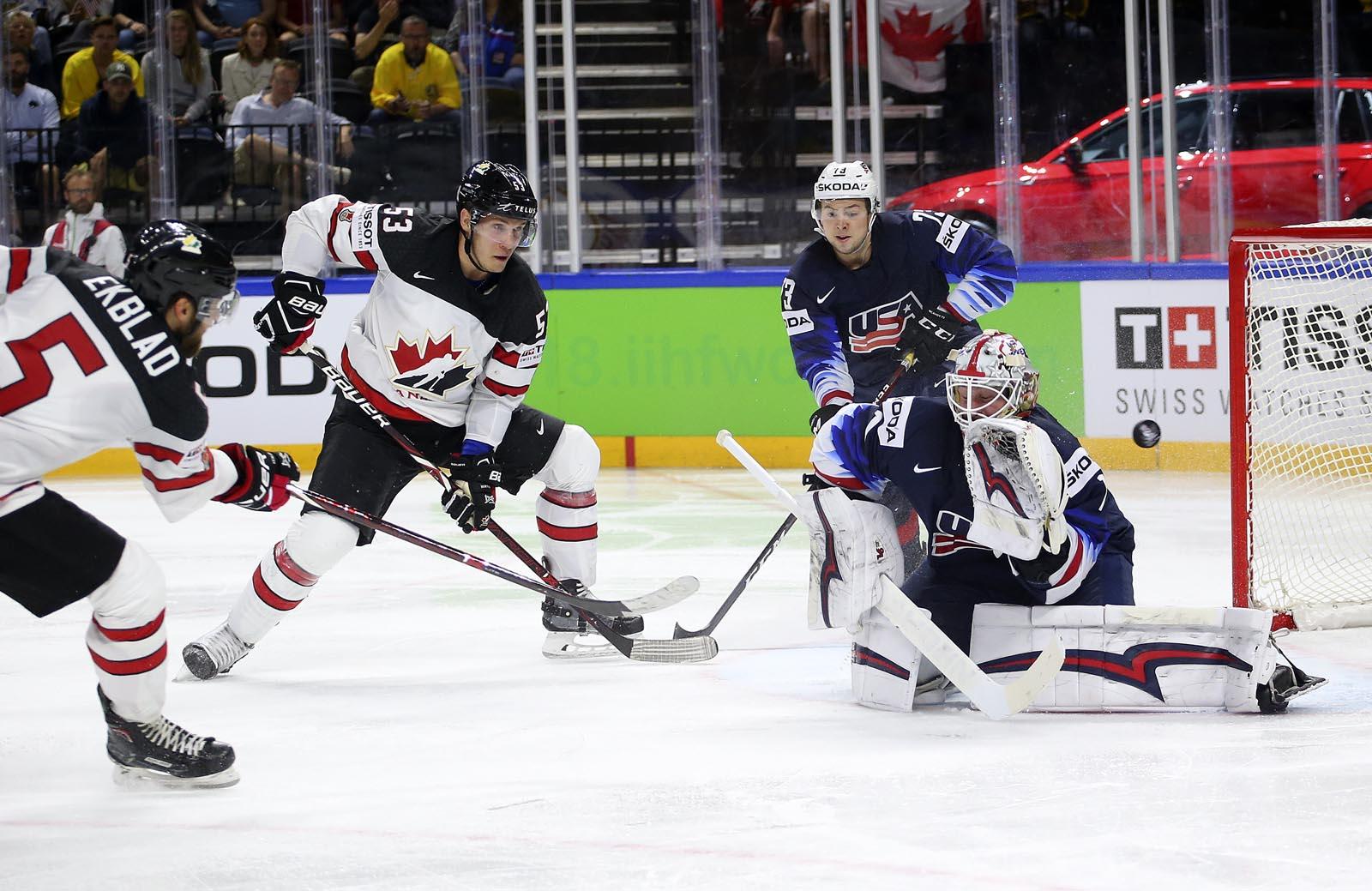 Матч США - Канада